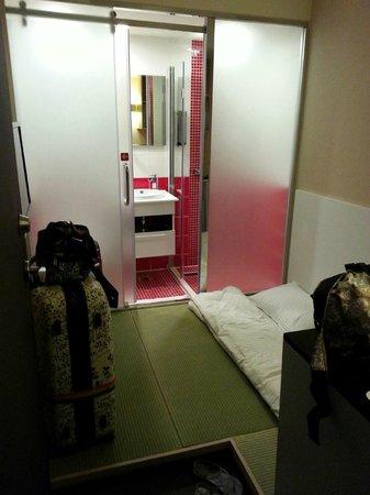 E House Hotel Ximending: 超蚊型房間 (Super Tiny Room)