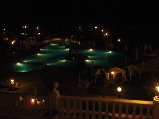 Grand Bahia Principe Jamaica: View from 23 block at night