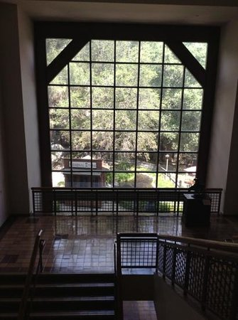 Autry Museum of the American West : looking out the back
