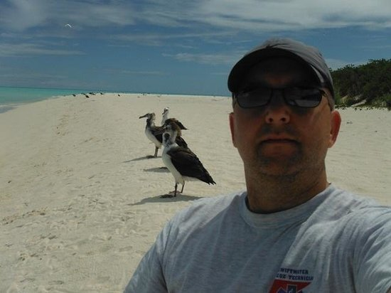 Midway Island, HI: Me and the natives