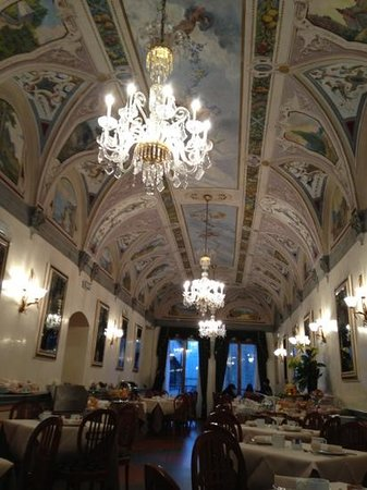 Hotel Degli Orafi: gorgeous breakfast room