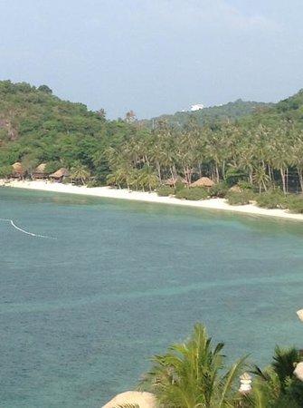 Jamahkiri Resort & Spa: view from the pool