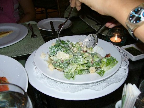 Kantary Bay, Rayong : ceasar salad