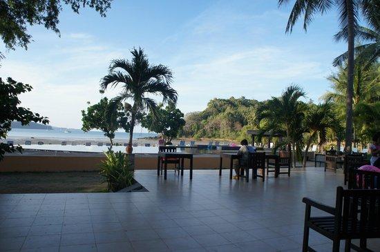 Kaw Kwang Beach Resort: Nice view from the breakfast area