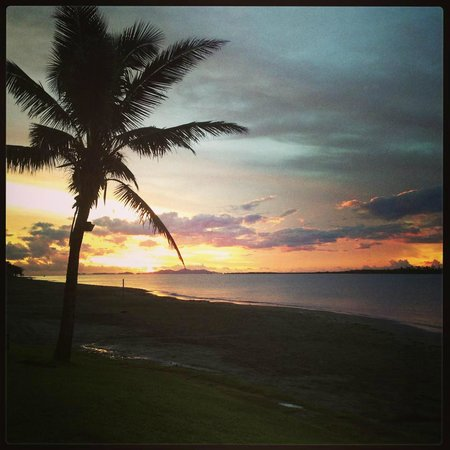 Hilton Fiji Beach Resort & Spa: Amazing sunsets