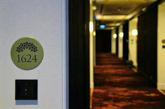 The Trans Luxury Hotel Bandung: Our room during our stay there
