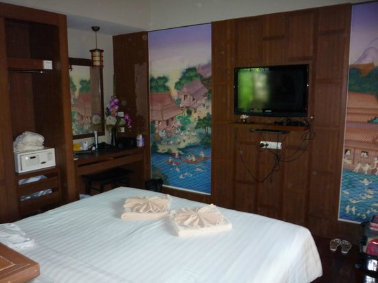 Pilanta Spa Resort: the large comfortable bedroom