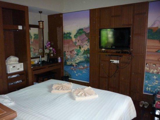 ปิลันธา สปา รีสอร์ท: the large comfortable bedroom