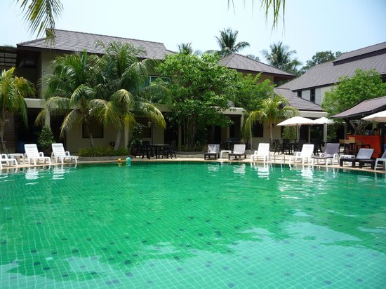 Pilanta Spa Resort: the hotel pool