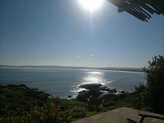 La Baleine Paternoster: What a view while having a braai