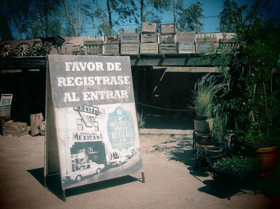 Museo de Mexicali: entrance