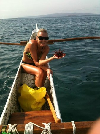 Maui Paddler Hawaiian Outrigger Experience: Look What I found