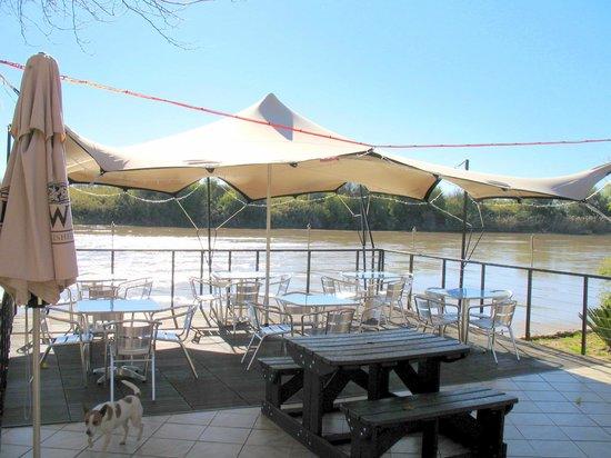 Oranjerus Resort: Sundowner deck