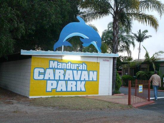 Mandurah Caravan and Tourist Park: the place
