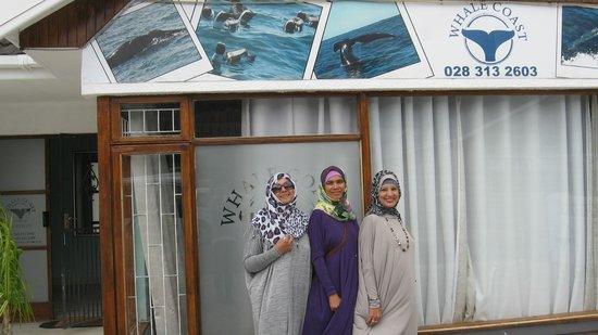 Whale Coast Lodge: Outside the Lodge