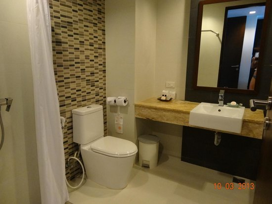 Aree Tara Resort: very clean bathroom