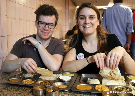 Food Tour in Delhi: South Indian food