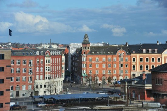 Scandic Aalborg City: Suite 622: partly view from the room