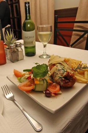 Vergelegen Restaurant: Food and wine