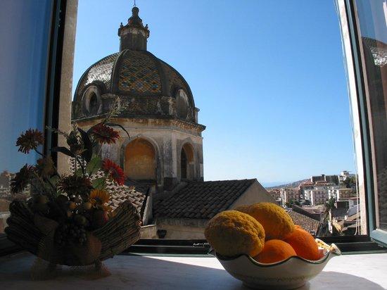 San Sebastiano Holidays: vista dalla sala colazione