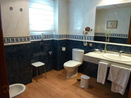 Tryp Gijon Rey Pelayo Hotel: Baño muy grande y con ventana
