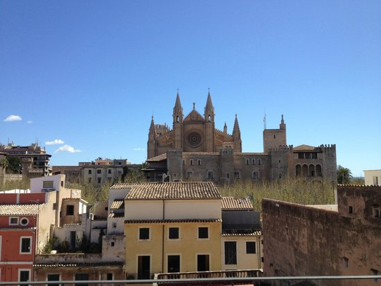 Hotel Tres: View from roof terrace