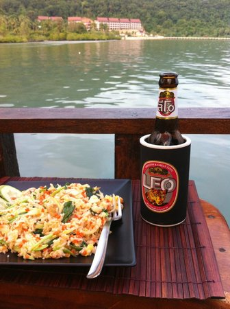El Greco Lounge bar/Greek Restaurant: tasty fried rice