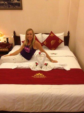 هوي أن ني ني هوتل: lovely bed