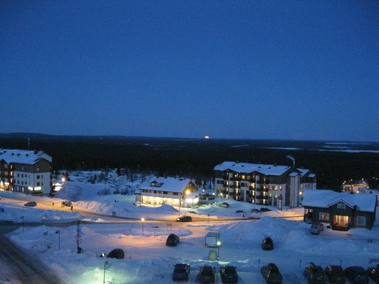 Lapland Hotel Saaga : View from our balcony