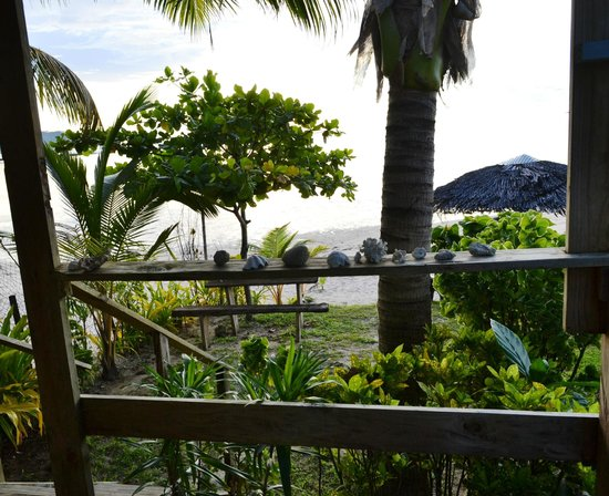 Savaii Lagoon Resort: View from the studio's deck (the deck is awesome)