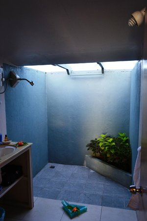 Savaii Lagoon Resort : Studio bathroom