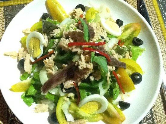 Phka Villa: Salad Nicoise