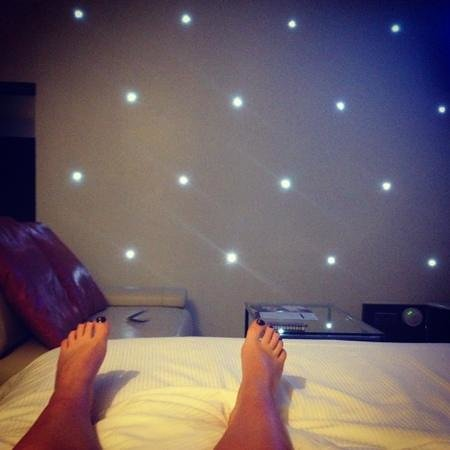 Maryborough Hotel & Spa: my starry wall