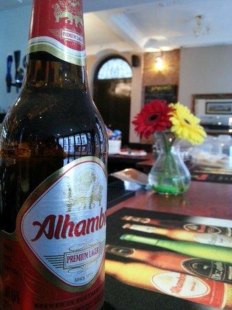 Spanish Lager at Caffe Alma, King Street, Margate