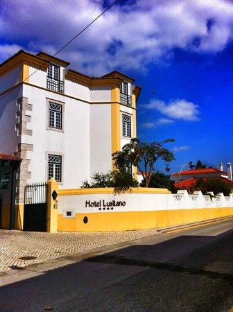 Hotel Lusitano: Fachada do edifício principal