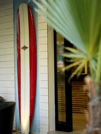 Hotel Hawaii Riccione: Dettaglio Ingresso