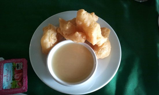Sailom Hotel: fried deep power dip with sweet sauce