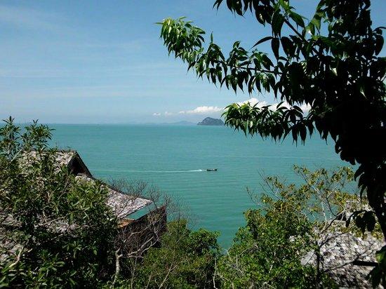 Santhiya Koh Yao Yai Resort & Spa: Blick aufs Meer