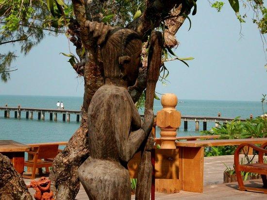 Santhiya Koh Yao Yai Resort & Spa: Blick vom Restaurant