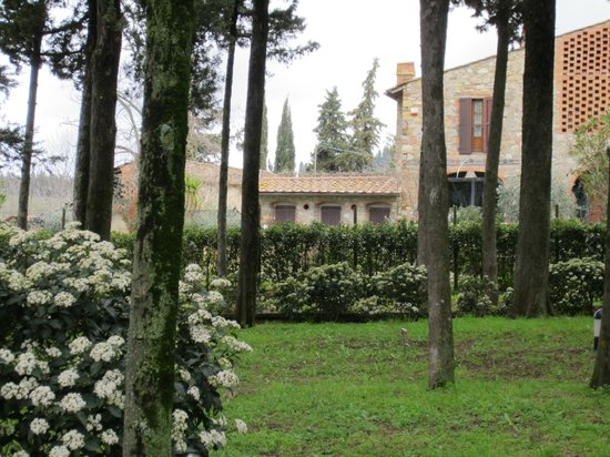 Villa San Filippo Resort: View from the East garden