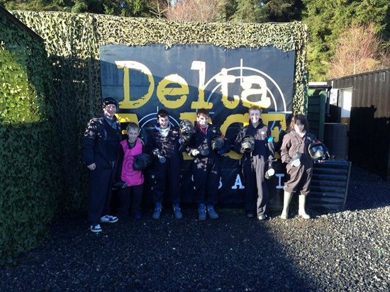 Delta Force Paintball Edinburgh: Thank you Delta Force Amberwood for making my son's birthday one to remember!