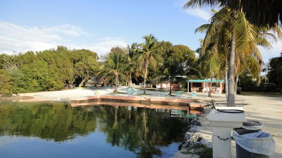 Rock Reef Resort: Beach and bungalows