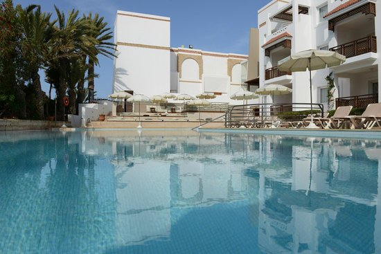 Hotel Timoulay & Spa Agadir : Timoulay Swimming pool and chill out
