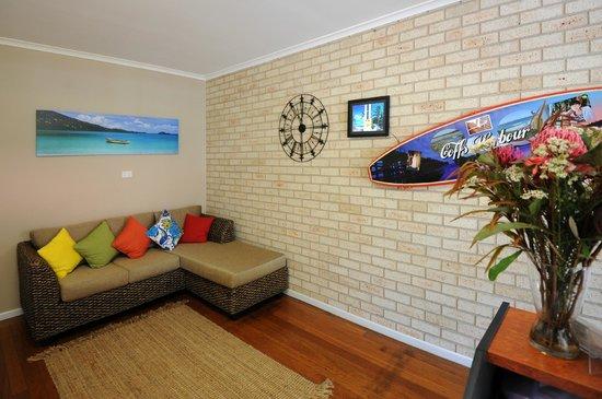 Ocean Park Motel : Reception area