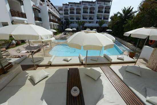 Hotel Timoulay & Spa Agadir: Timoulay Chill out, solarium & pool