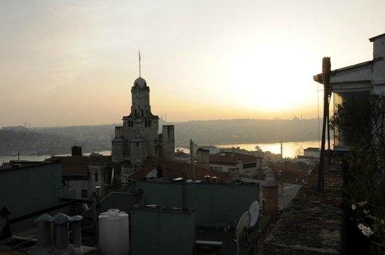 Manzara Istanbul: Terrassen Ausssicht vom Topkapi am Abend