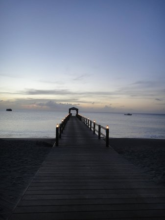 Four Seasons Resort Nevis, West Indies: The pier