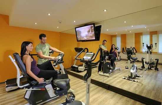 Johannesbad Hotel Palace: Fitness Raum