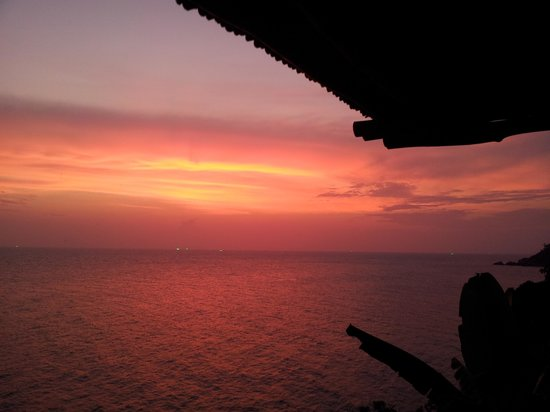 View Point Resort: Sunset from our Villa