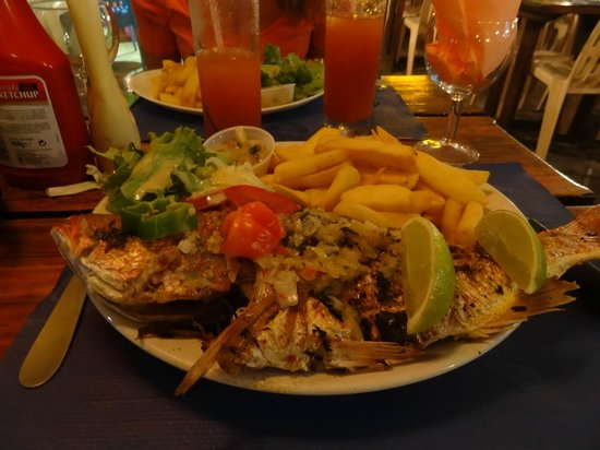 Tam Tam : assiette au tamtam poisson grillé